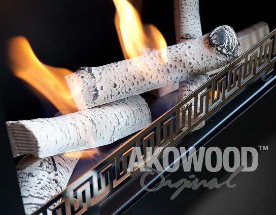 How properly lay ceramic logs in bio fireplace lovter - Bio ethanol leroy merlin ...