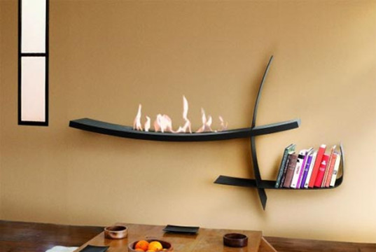 Ethanol Fireplaces Wall Mount Lovter