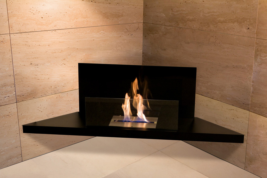 Bio fireplace – the warmest corner in our house  Bio