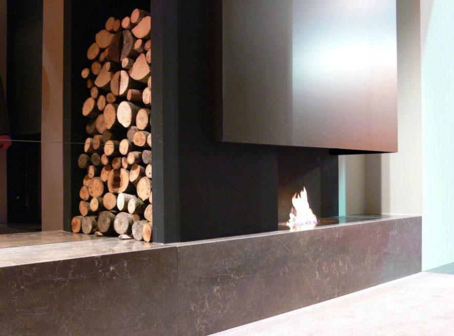 Bio fireplace – built-in fire - LOVTER