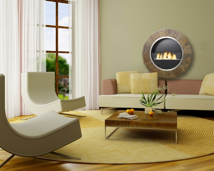 Bio fireplace – in the stone circle | LOVTER
