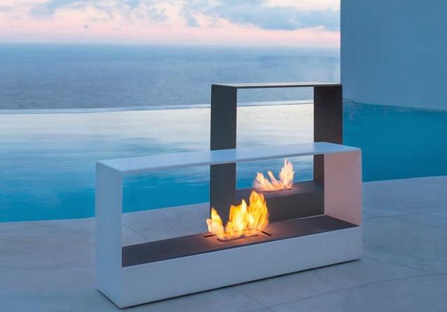 Outdoor Bio Fireplaces Lovter