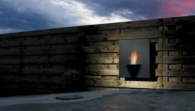 Bio Fireplace Gaya Flame In Noble Setting Lovter